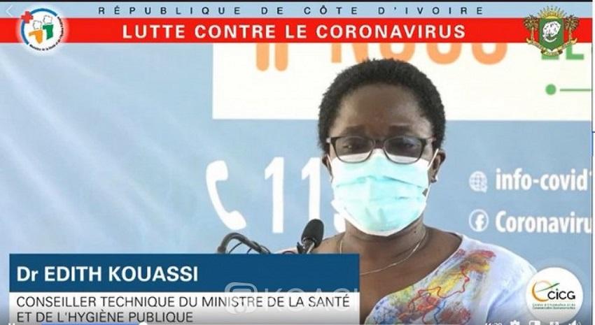 Coronavirus,Dr Edit Kouassi