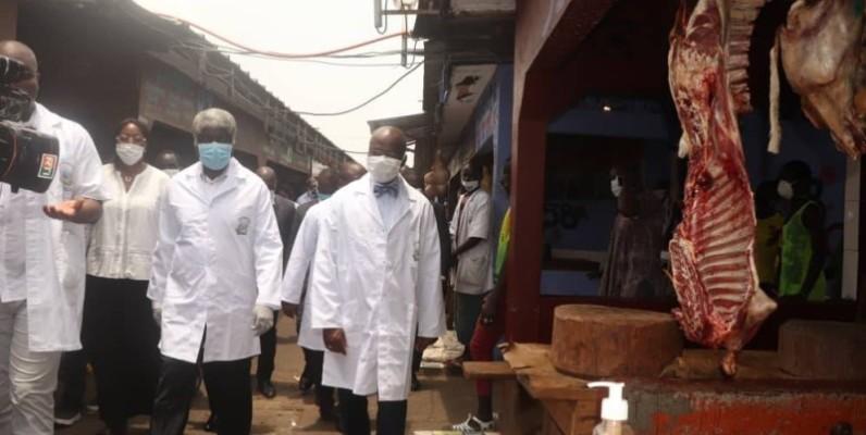 Coronavirus,  abattoir,  Dosso Moussa, Beugré Mambé, Emmou Sylvestre