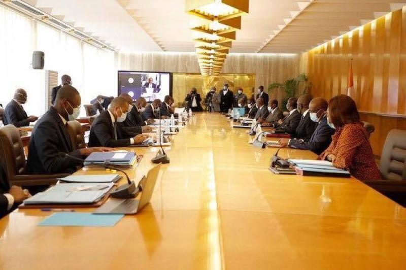 Conseil des ministres,communiqué