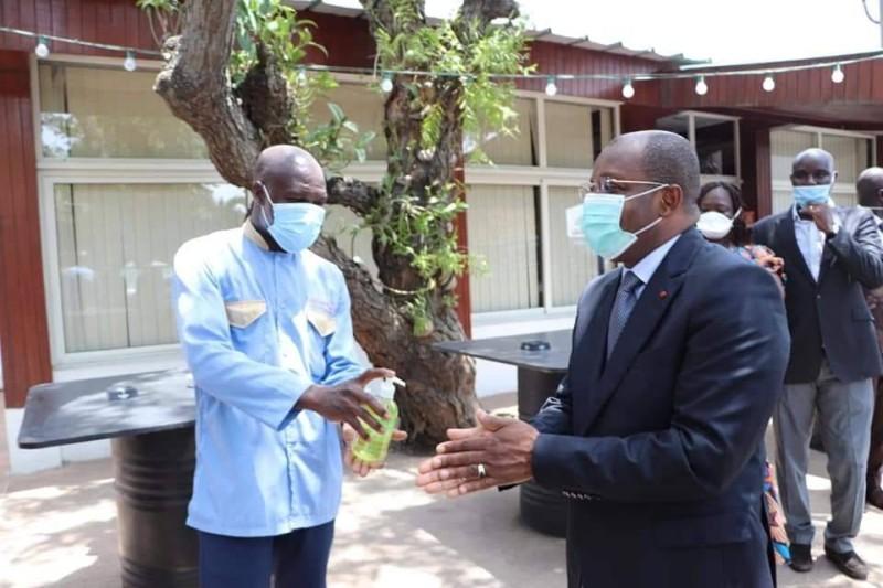 Pandémie du coronavirus,Siandou Fofana