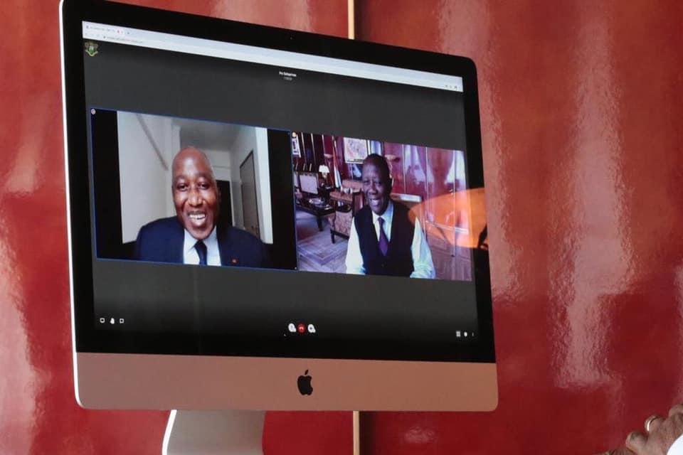 Contrôle médicale,Gon Coulibaly,Visio-conférence