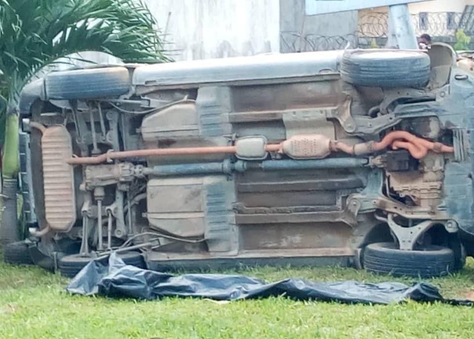 Accident,samedi,Cocody,Pr Laurence Adonis