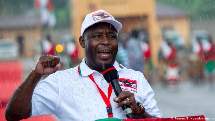 Election,Burundi,Évariste Ndayishimiye