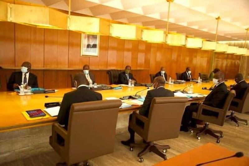 Communiqué,Conseil des ministres