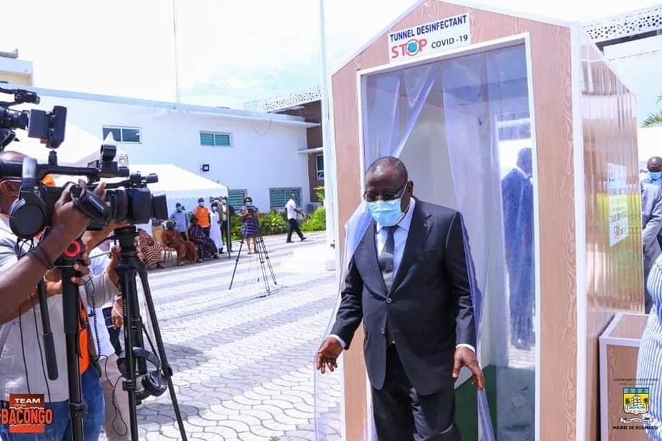 lutte-contre-le-coronavirus-la-commune-de-koumassi-recoit-le-premier-tunnel-desinfectant