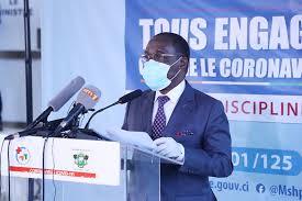 Covid-19,cas,ministre de la Santé et de l'Hygiène publique,Aka Aouélé
