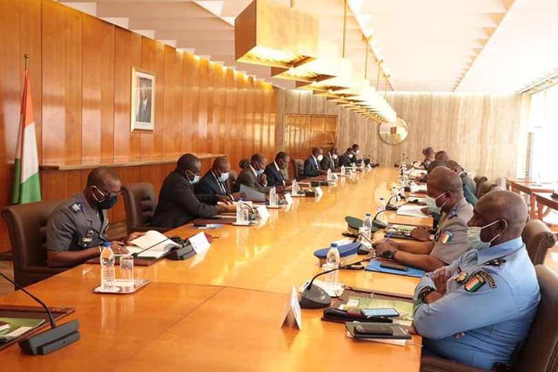Covid-19,coronavirus,Conseil national de sécurité,CNS,décisions,Alassane Ouattara