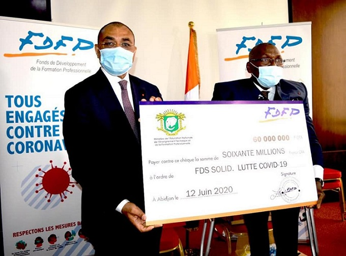 fonds-de-solidarite-contre-la-covid-19-le-fdfp-octroie-130-millions-fcfa-au-gouvernement