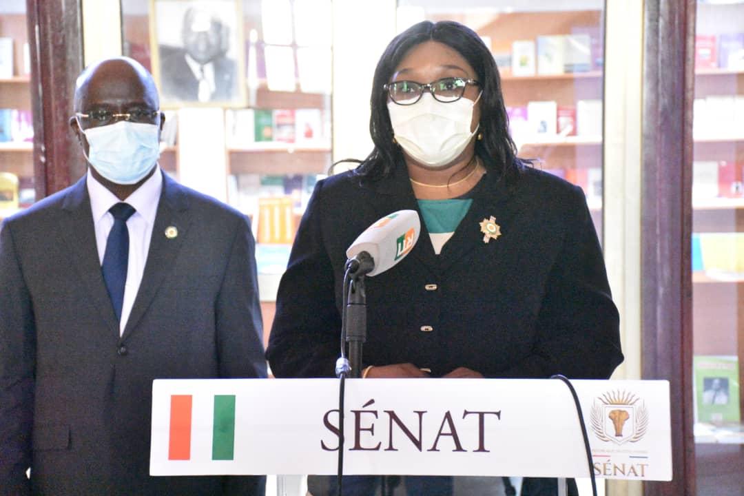 Sénat,Jeannot Ahoussou-Kouadio,sénateurs,Diaby Makamy,Enrôlement,liste électorale