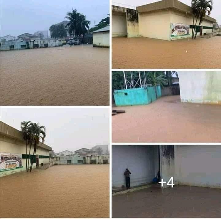 Pluies, Abidjan, EDEC,  Rose Marie Guiraud,