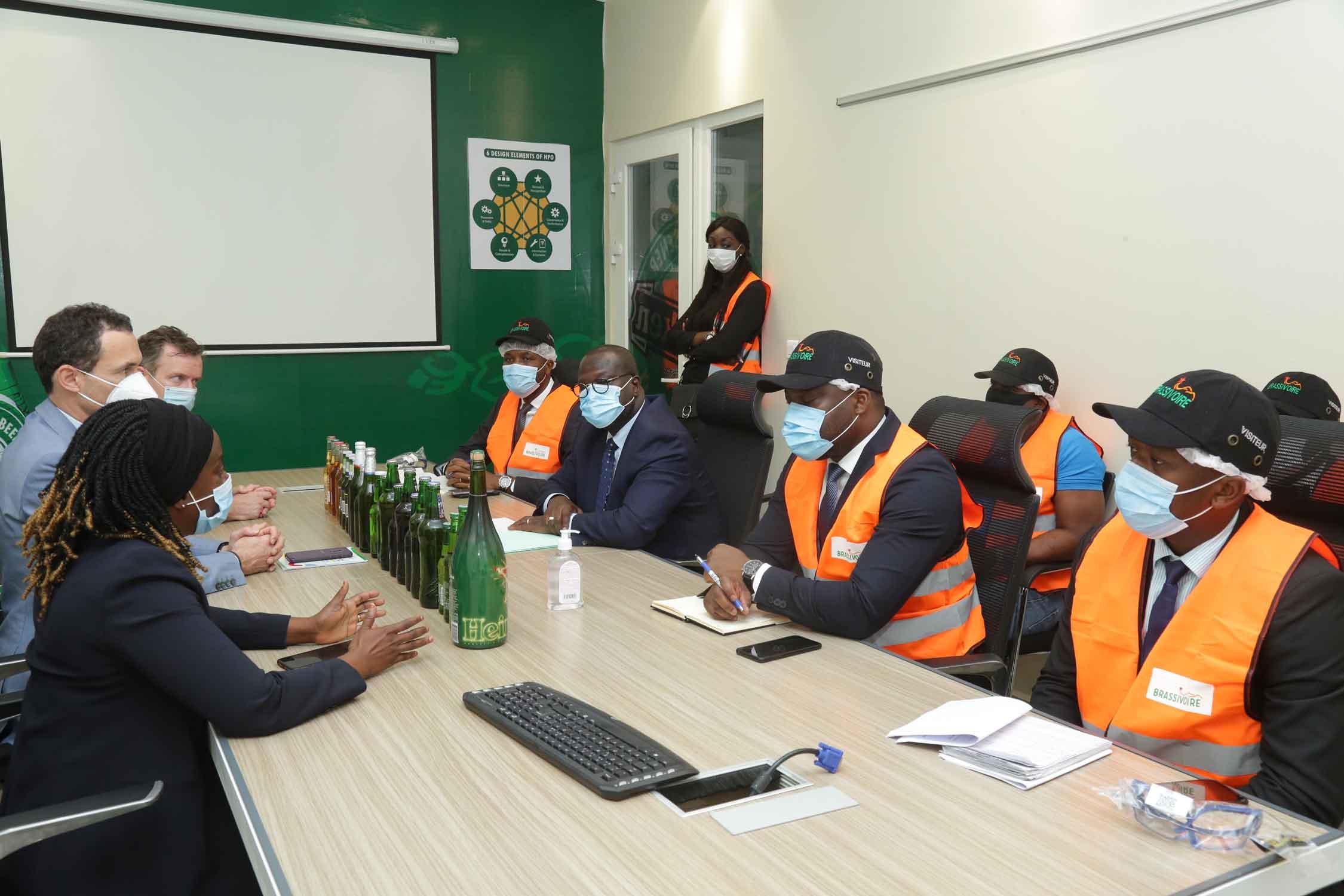 investissement privé,ministre,Emmanuel Esmel Essis,Brassivoire