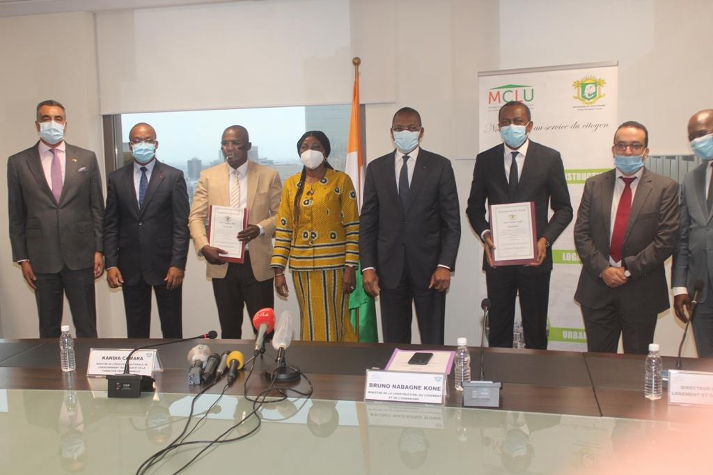 Projet immobilier,enseignants,MUPEMENET,Kandia Camara,Bruno Nabagne Koné,Boko Michaël