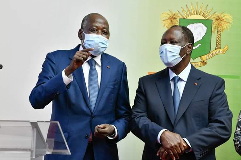 Retour Amadou Gon Coulibaly,Contrôle médical,descente d'avion,Président de la République