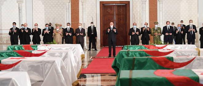 Guerre d'Algérie,France,Restitution de reste,résistants tués