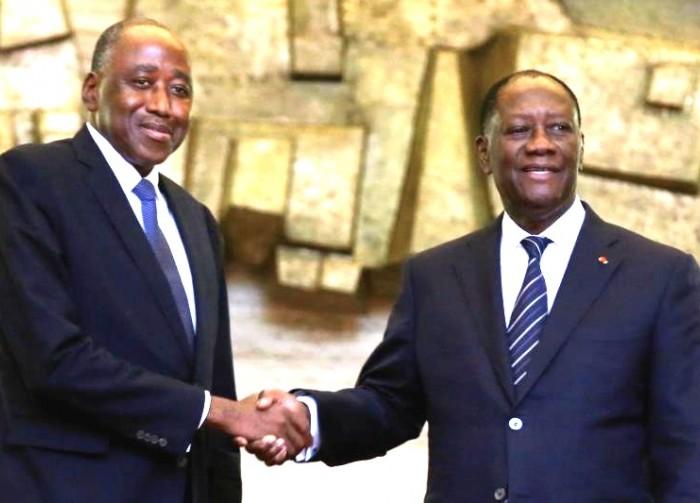 deces-damadou-gon-coulibaly-les-premiers-mots-dalassane-ouattara-a-son-chef-du-gouvernement
