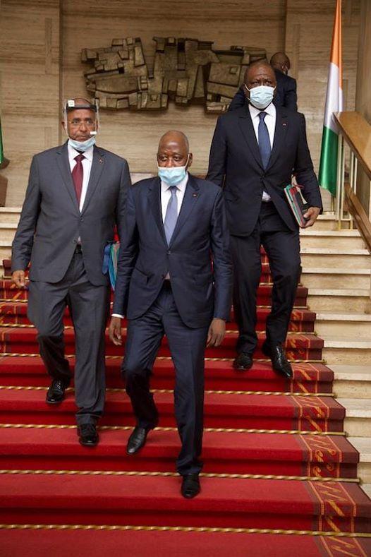 Amadou Gon Coulibaly,Ahmed Bakayoko