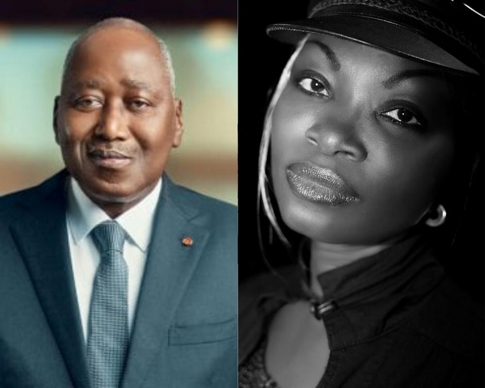 Amadou Gon Coulibaly,Chantal Taiba