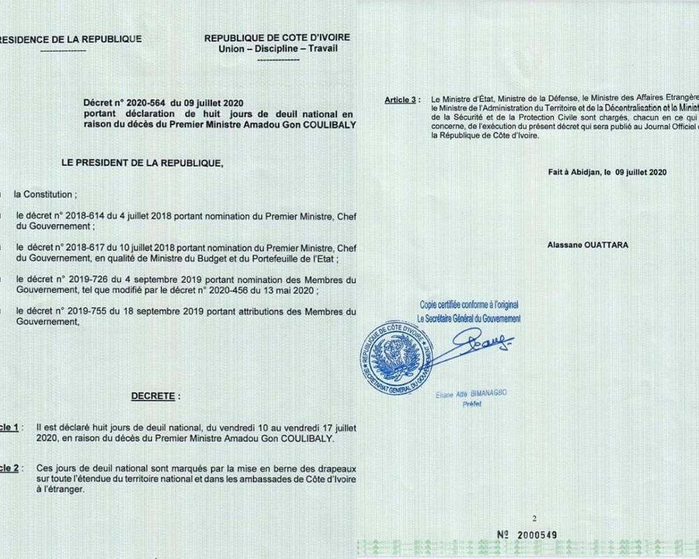 deces-du-premier-ministre-amadou-gon-le-president-ouattara-decrete-8-jours-de-deuil-national