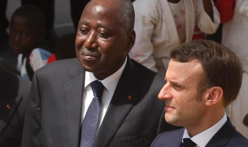 Gon Coulibaly,décès,réaction Emmanuel Macron,France
