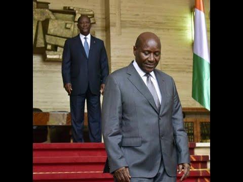 Démission Daniel Kablan Duncan,Patrick Achi,présidence de la République,Alassane Ouattara