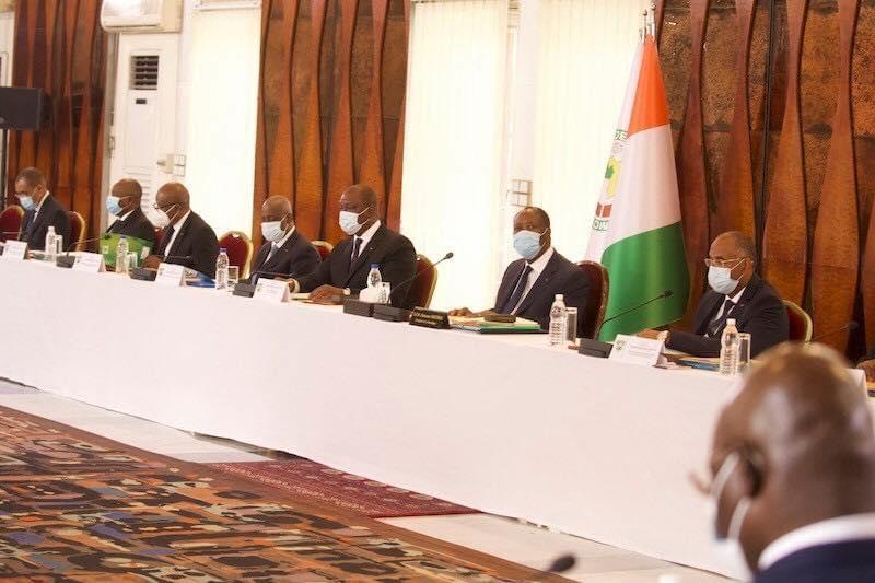 Communiqué,conseil des ministres extraordinaire,présidence de la République,Alassane Ouattara