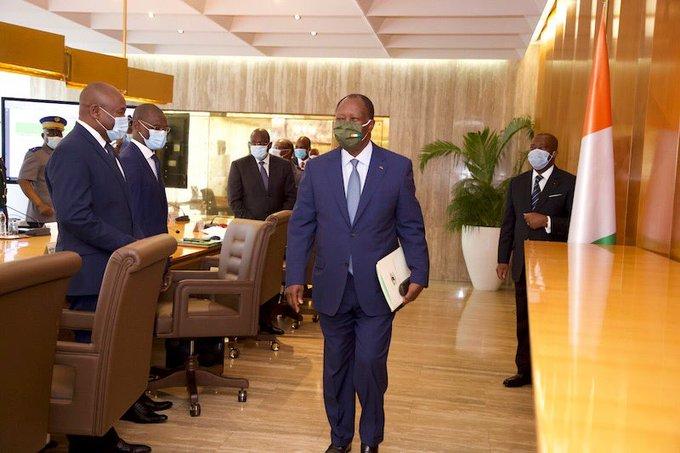 Conseil national de sécurité,Fin de l'isolement d'Abidjan
