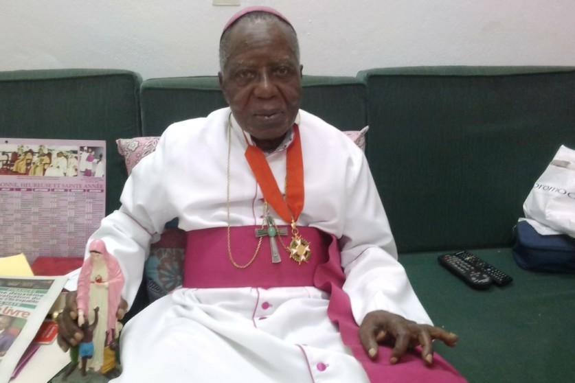 Épiscopat,Mgr Pierre Coty,décédé