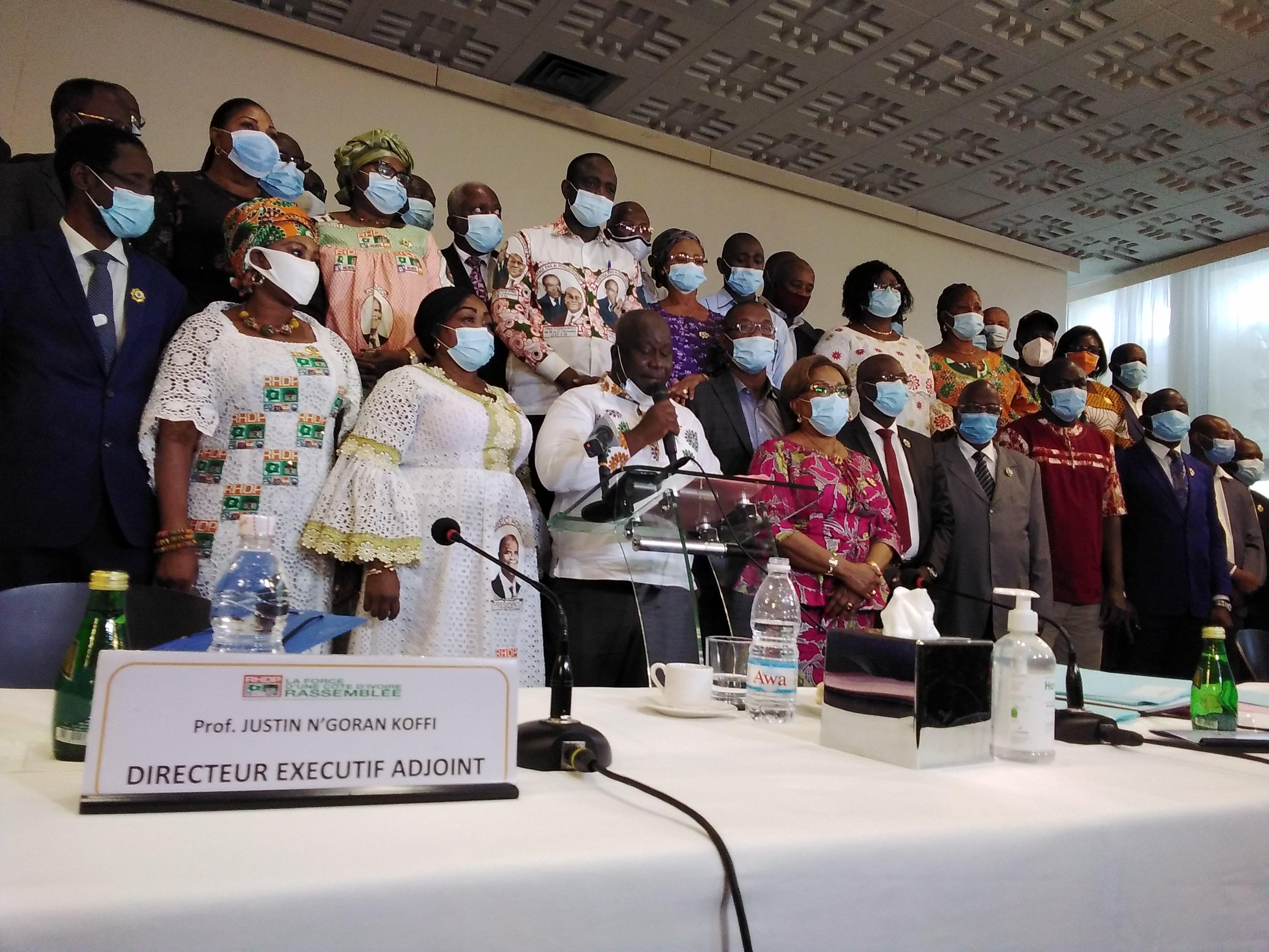 RHDP,Candidature de Ouattara,Présidentielle 2020,Députés,Frégbo Basile
