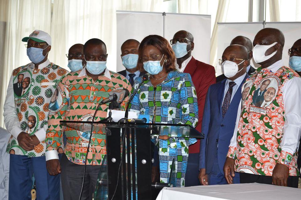 présidentielle,candidature,Alassane Ouattara,RHDP