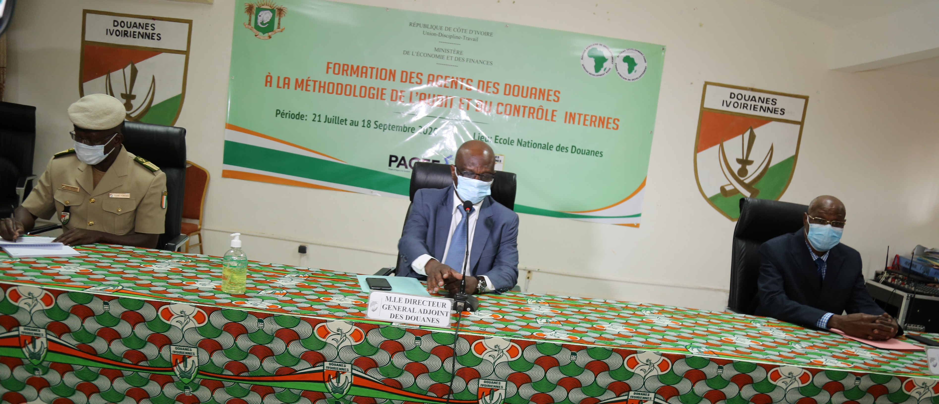 audit-et-controle-interne-une-quarantaine-dagents-de-douane-en-formation