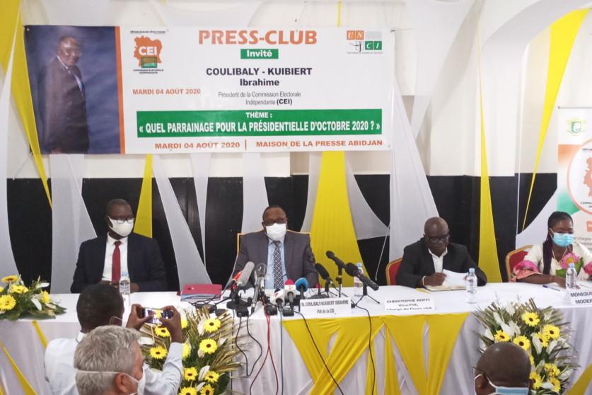 présidentielle 2020,CEI,Coulibaly-Kuibiert Ibrahim