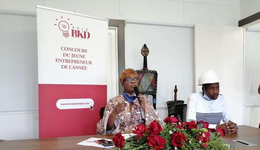 Jeune Entrepreneur,Prix Bénédicte Janine Kacou Diagou