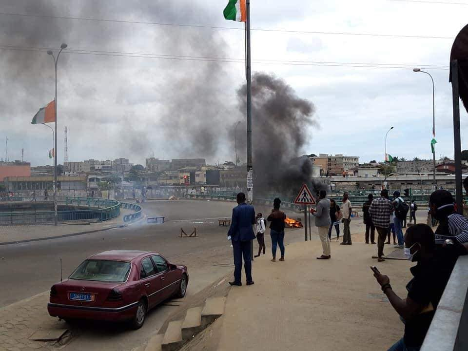 retrait-de-gbagbo-sur-la-liste-electorale-17-interpellations-lors-dune-manifestation-a-abidjan