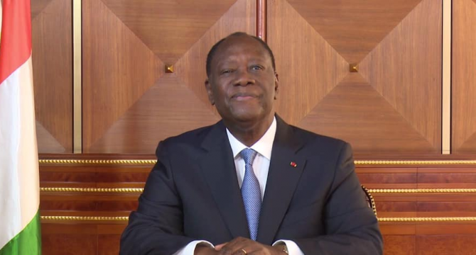 Alassane Ouattara,Présidentielle d'Octobre 2020,Revue de presse
