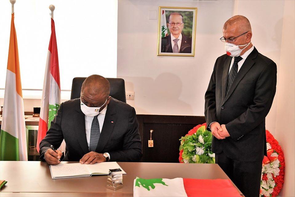 explosions-au-liban-le-premier-ministre-hamed-bakayoko-reaffirme-la-solidarite-des-ivoiriens