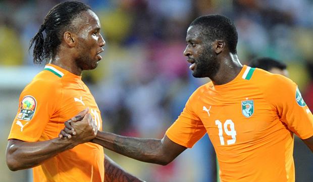 Football,Diider Drogba,Yaya Drogba