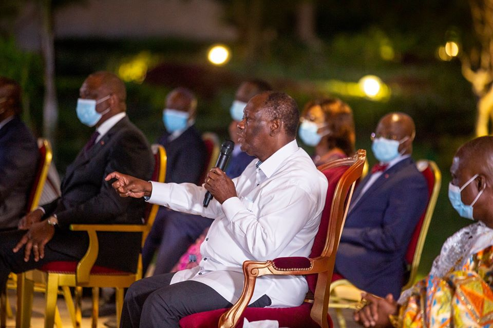 3e mandat,Alassane Ouattara,Constitution