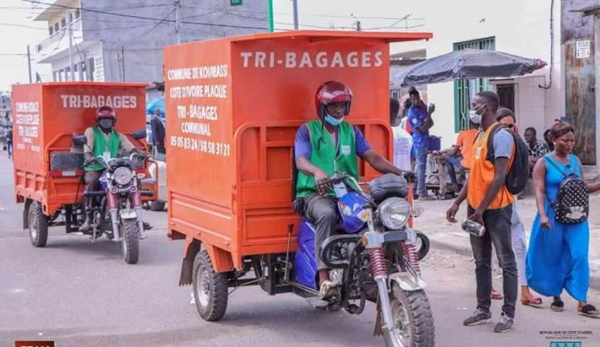 Koumassi,Taxi,Tri-Bagages