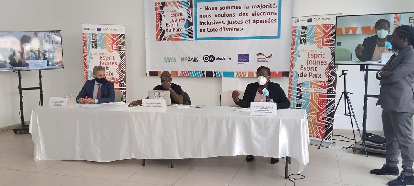 Côte d'Ivoire,Projet esprit jeunes esprit de paix,Deustche Weller Akademie