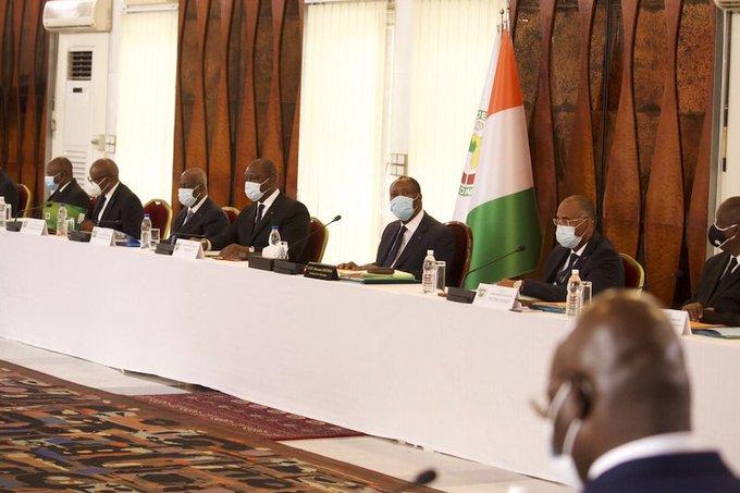 Conseil des ministres,Alassane Ouattara,président de la république,Communiqué