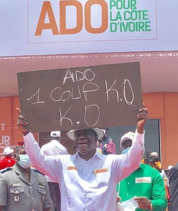 Investiture,candidat RHDP,Alassane Ouattara,Discours