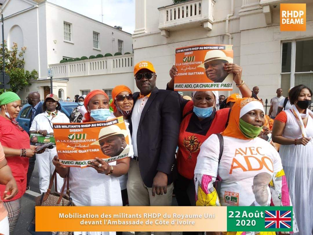 RHDP, France, Alassane Ouattara, Diaby Lanciné,