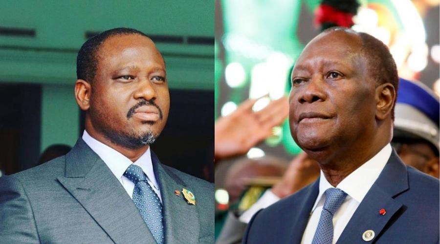 investiture,candidat du RHDP,Alassane Ouattara,Guillaume Soro
