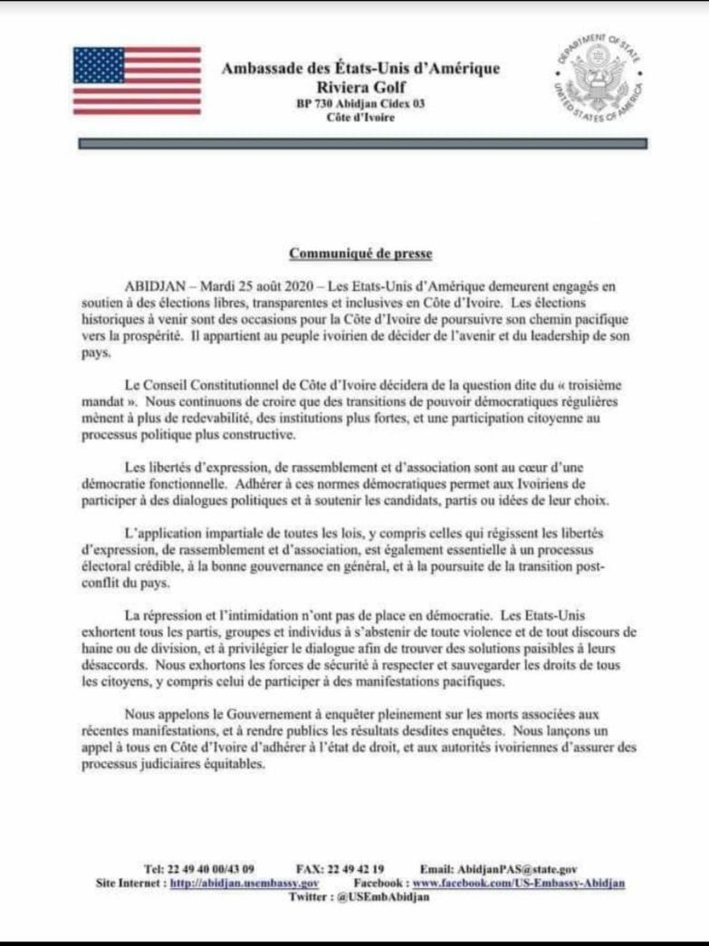 3e mandat,ambassade des États-Unis,gouvernement,manafestations