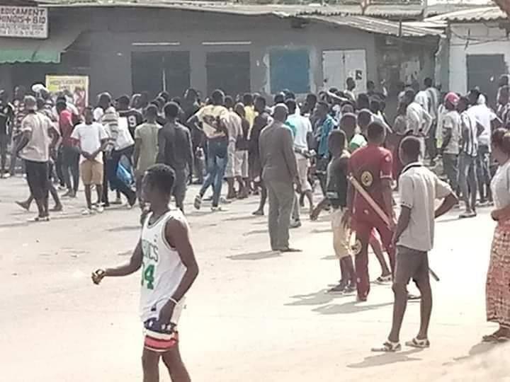 Alassane Ouattara,manifestations,Yopougon