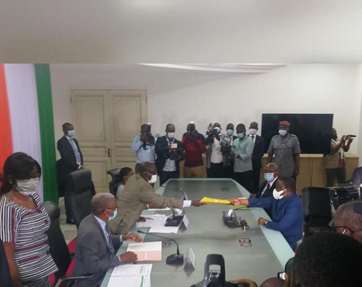 dépôt de candidature,Bédié,Henri Konan Bédié,CEI,Commission électorale indépendante