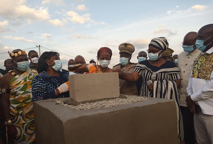 Centre de culture intégré, Raymonde Goudou Coffie,  Koffi N'Guessan Lataille, Dimbokro,