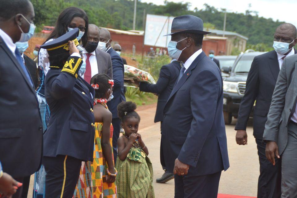 Visite d'Etat,Alassane Ouattara,Moronou