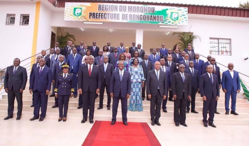 Conseil des ministres, Moronou, Alassane Ouattara,