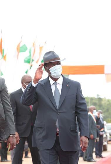 Visite d'Etat,Moronou,Alassane Ouattara